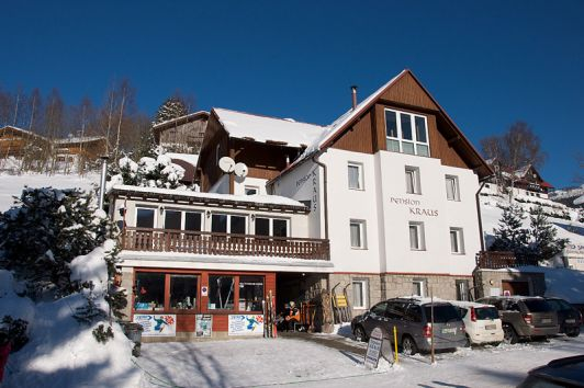 Pension Kraus winter